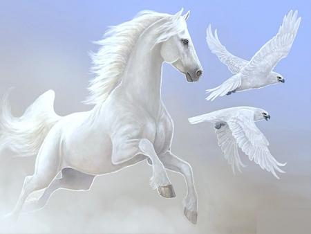 белый конь на принце слушать